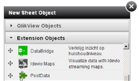 qlikview webview tutorial qlikview extension tutorials documentation and exles