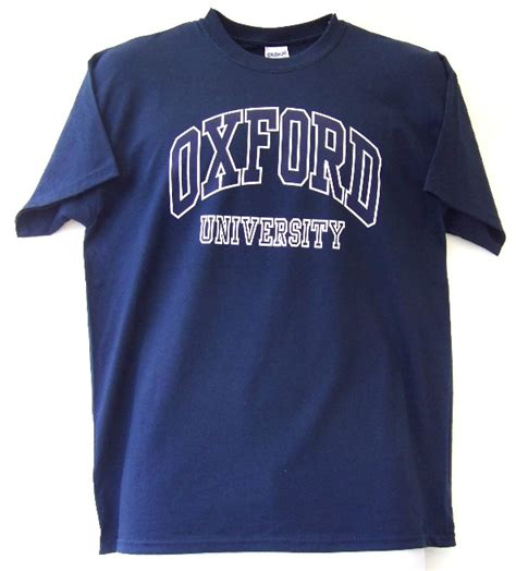 Dining Room Table Sizes by Oxford University T Shirt