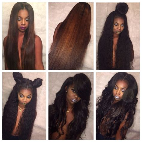 best hair for sew ins sew in hairstyles sew in done right pinterest follow