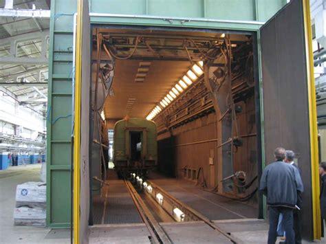 carrozze ferroviarie granigliatrici per carrozze ferroviarie