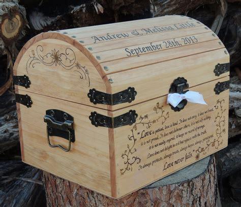 wooden wedding card box ideas wedding time capsule memory keepsake wedding card box