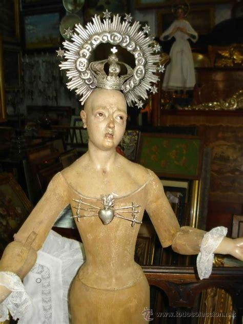 imagenes catolicas en venta excepciona virgen cap y pota del xviii con cor comprar
