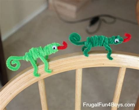 easy pipe cleaner crafts for pipe cleaner animals craft for
