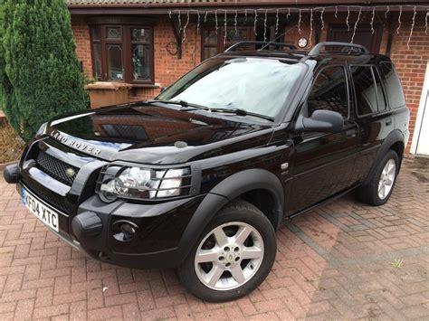 land rover freelander 2004 land rover freelander 2 0 td4 hse auto 2004 wednesbury