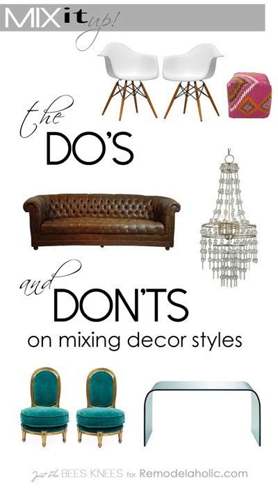 home design do s and don ts remodelaholic mix it up the do s and don ts of mixing