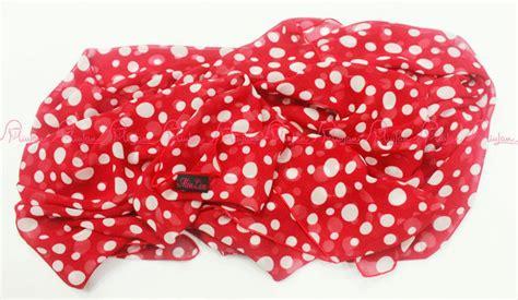 Zahra Scraft polka scraft merah baju muslim gamis modern