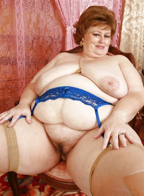 Naked Fat Old Lady Mature Porn Pics