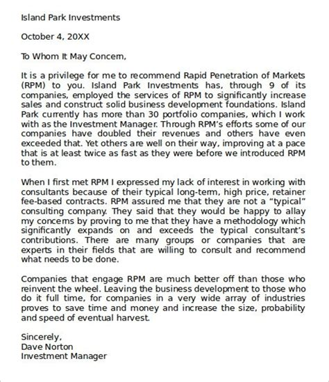 Recommendation Letter For Assistant Exles sle administrative assistant reference letter template 8 free documents in pdf word