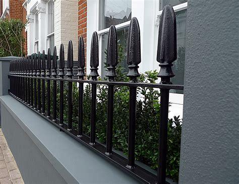 gate colour scheme grey colour scheme walls iron balham formal front garden