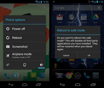 reboot android phone how to restart android phones in safe mode techmehub