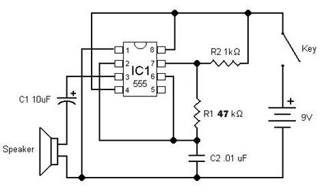 build  electronic code practice oscillator
