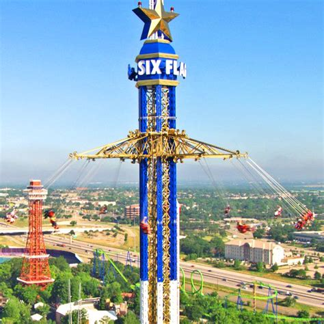 six flags texas swing ride pin by six flags on major adrenaline rush pinterest