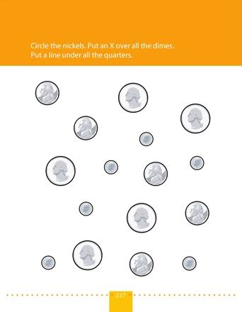 Identifying Coins Worksheets by Identifying Coins