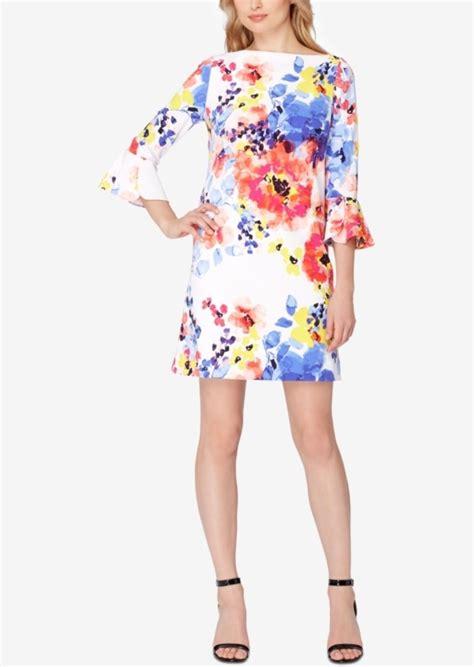 Gp Bellsleeve Dress Series 2 tahari tahari asl bell sleeve floral print shift dress dresses shop it to me