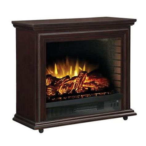 hton bay derry 32 in electric fireplace in espresso