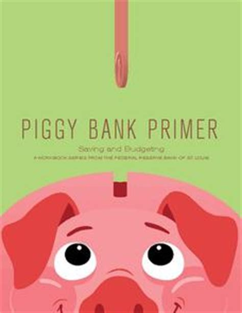 Piggy Bank Primer Saving And Budgeting Unit For 3rd 5th