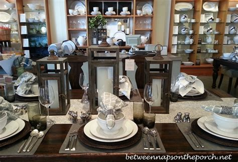table setting ideas for fall and