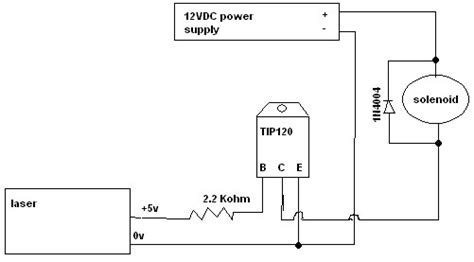1n4004 diode frys opening a 12v valve on a 5v signal
