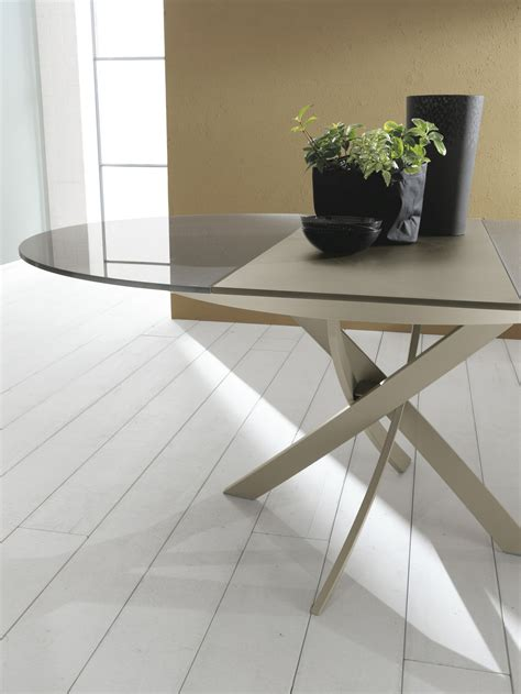 bontempi camerano barone extending table by bontempi casa