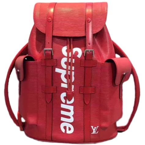 supreme backpack autre marque louis vuitton x supreme backpacks backpacks