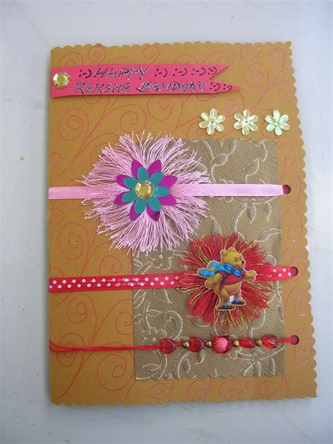 How To Make A Handmade Rakhi - vishesh collections handmade by deepti handmade rakhi cards