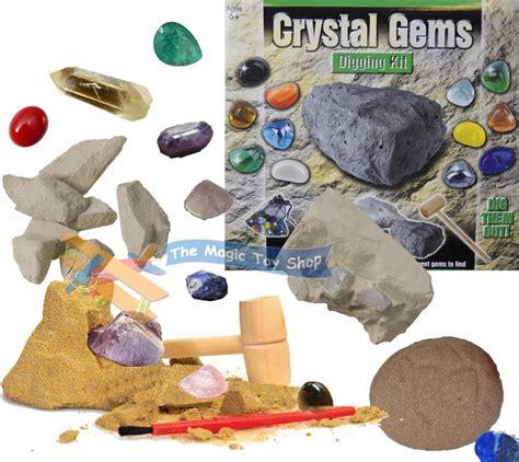 gems digging mining excavation kit dig out your