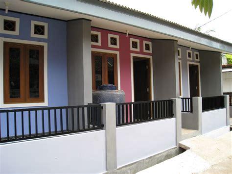 Desain Depan Rumah Kontrakan | contoh desain rumah kontrakan minimalis sederhana bagus