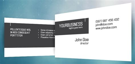 template kartu nama photoshop gratis crispy business card template photoshop psd kartu nama
