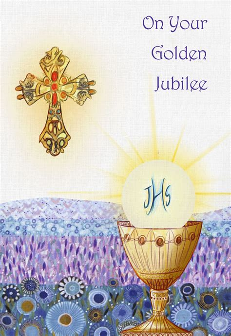 golden jubilee archives religious cards