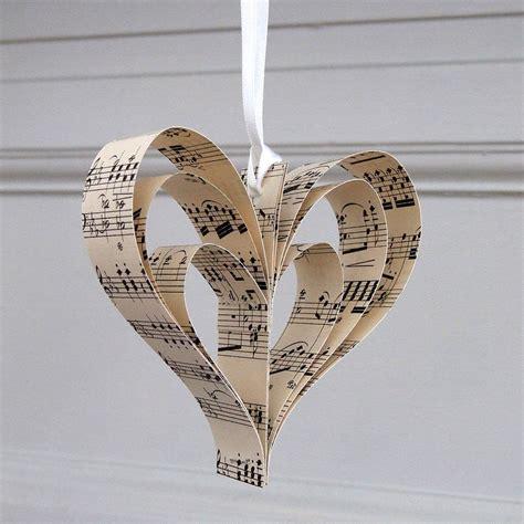 Handmade Hearts - handmade sheet decoration by re made
