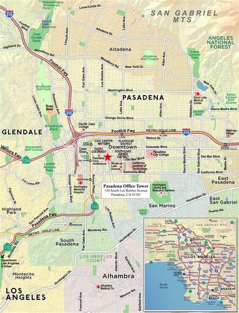 map of california pasadena 21 new pasadena california map swimnova