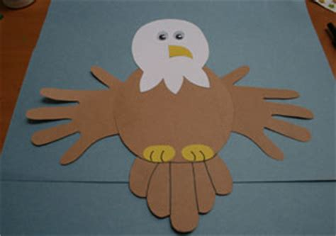 Bald Eagle Papercraft - national park vbs crafts on 38 pins