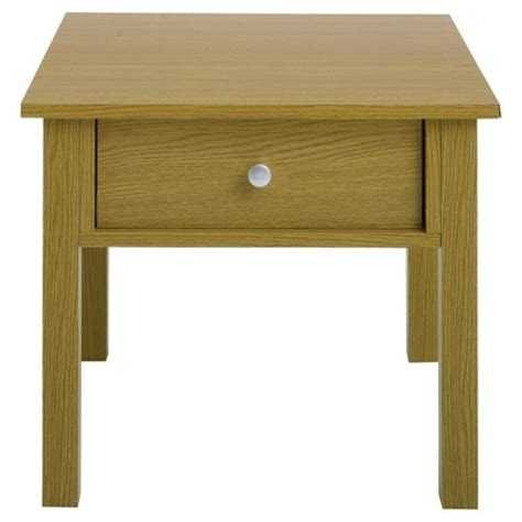 Oak Effect Side Table Buy Milton Side Table Oak Effect From Our Console L Tables Range Tesco