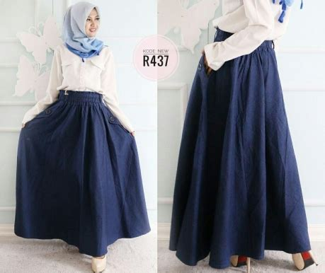 Overall Rok Payung W196 rok payung r437 baju style ootd