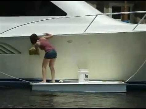 floating boat work platform a new video on how to use a work float floating work
