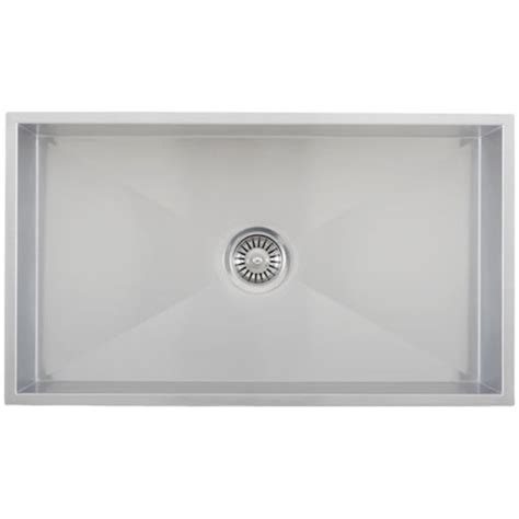 ticor s6503 undermount 16 stainless steel kitchen sink