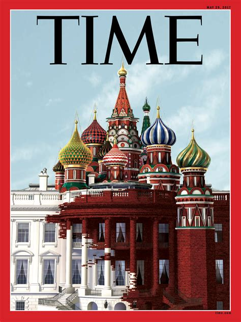 cover house time s latest cover depicts kremlin takeover of white house new york post