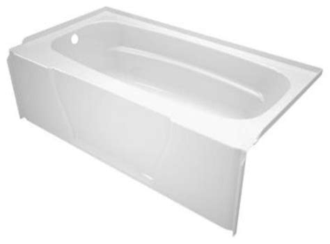 Bathtubs For Home by Asb Firenze 5 Foot Left Drain Soaking Tub White Modern