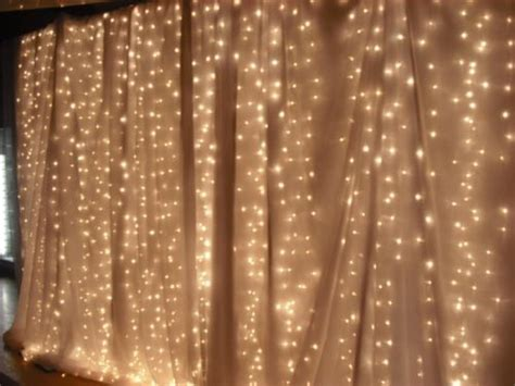 lights backdrop 1000 ideas about curtain backdrop wedding on