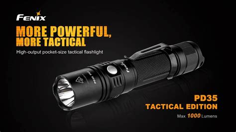 fenix digital pd35 tac led tactical flashlight fenix