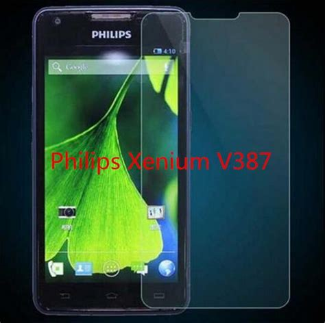 Lu Explosion Proof Philips for philips xenium v387 ღ ღ tempered tempered glass