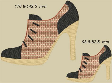 The Shoe Initiative Gets Pretty Shoes Involved In A Great Cause by Free Embroidery Designs Embroidery Designs