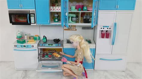 Mainan Kitchen Set Frozen With Doll disney princess elsa kitchen doll kitchen set lori mix bake set