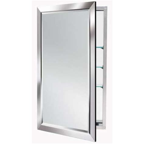 Mirrored Medicine Cabinet by Alno 4000 Series Mirrored Medicine Cabinet W Polished