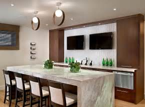 modern kitchen bar 27 basement bars that bring home the good times
