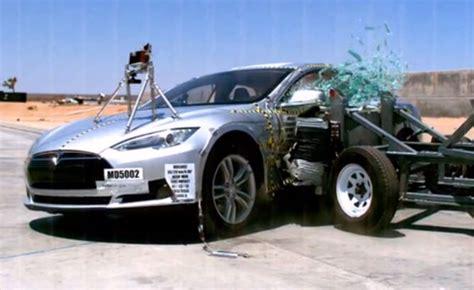 Tesla Crash Test Tesla Model S Scores Highest Possible In Crash Testing