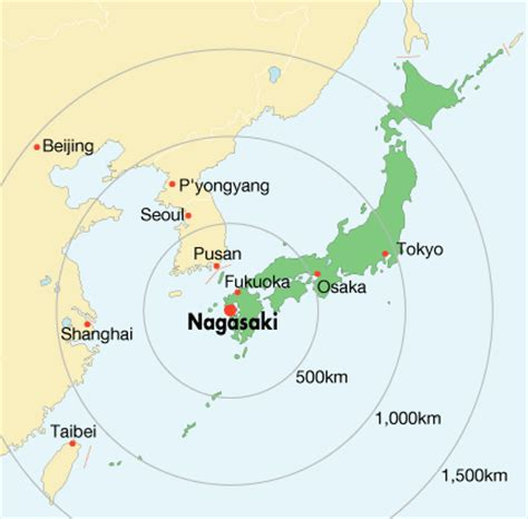 nagasaki map nagasaki travel information