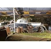 100 Car French Barn Find Includes Rare Ferraris Bugatti Video
