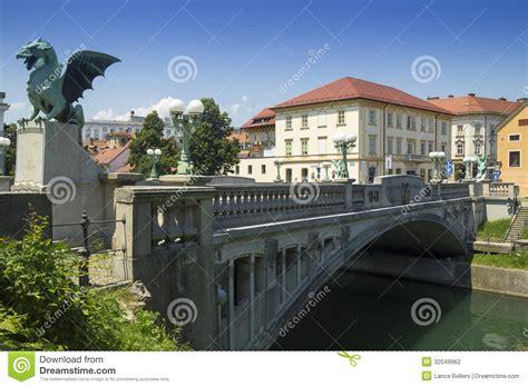 design management ljubljana ljubljana dragon bridge stock photography image 32049962