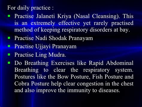 Detox Kriya Practice by Allergic Rhinitis Ppt